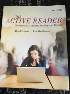 The Active Reader Third Edition