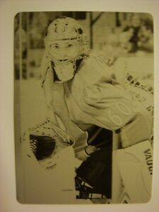 2007-08 Upper Deck Printing Plates Black JOSE THEODORE #'d 1/1