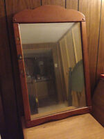 90 year old Antique Mirror