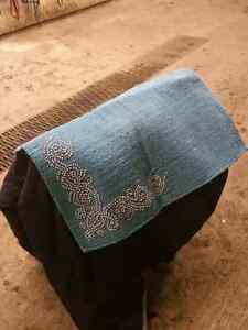 Pretty saddle pad