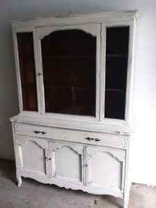 Antique Buffet and Hutch (1969) REDUCED