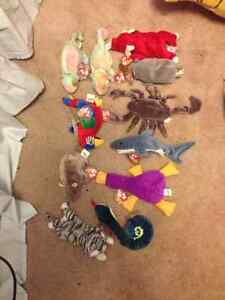 TY Beanie Baby Collection 23 medium size $5ea +7 TY mini $2.50ea