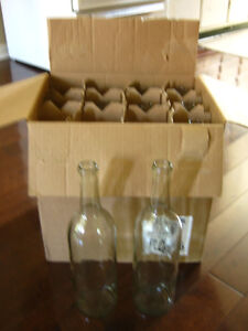 Wine bottles only used once!