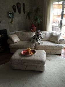 Couch,loveseat and ottoman three-piece