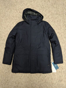 Quartz-Co, Canadian-Made, Men's Winter Jacket, Navy