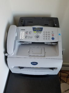 Brother MFC- 7220 laser printer, photocopier, and scanner.