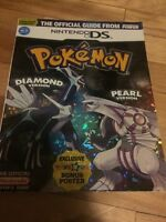 Pokemon diamond pearl guide book livre Nintendo DS lite