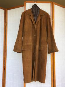 Vintage Suede Coat