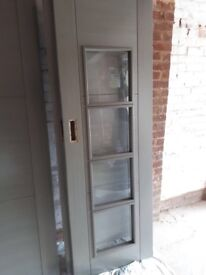 Brand new Todd grey coto wooden doors 4 parts
