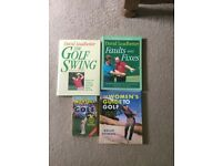 Golf swing books and Bruce Springsteen'bio
