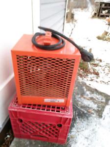 Garage electric heater