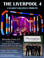 Beatles mania at the Fergus Grand Theatre with The Liverpool 4
