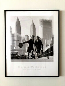 Framed Norman Parkinson Print