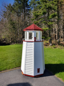 outdoor lawn decorative light house