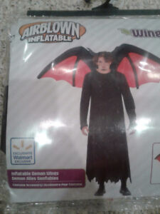 Inflatable demon/ devil wings BRAND NEW ONLY $8