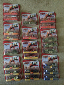 Packaged CARS movie Mini Sets of 2