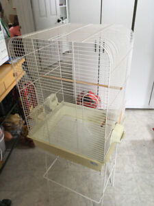 """For sale 24"""" birdcage with stand"""