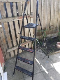 Step ladders metal for sale