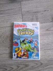 Wii game Fishing Frenzy