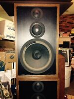 Speakers free! For repair or parts (records turntable stereo)