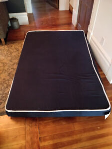 FREE Custom foam mattress with removable cover 69 x 46 x 6