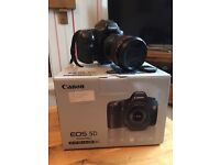 Canon 5D DIgital camera with Canon EF 24 - 105 L IS USM lens NO PAYPAL