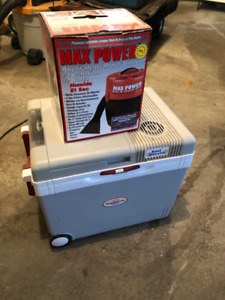 12V Cooler on Wheels and a 12V Auto Vacuum