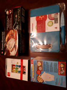 ALL NEW: Turbo Roaster + EZ Egg + thinkkitchen knife & 3 boards+