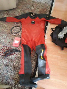 Viking HD Drysuit + Diving Accessories $1000