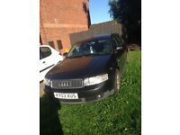 Audi A4 Estate 1.9TDI 03 Non Runner Spares/Repairs