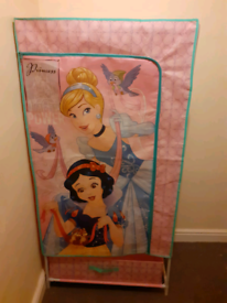 Girls canvas disney wardrobe