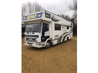 Iveco race home with garage PX welcome