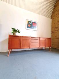 Danish Mid Century Teak Sideboard