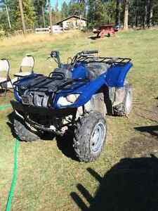 Grizzly 660 fully rebuilt / Trade for sled