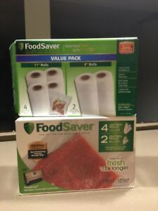 11x Food Saver Rolls