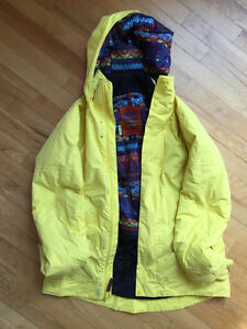 Womens Burton 'Dry Ride' Snowboard Jacket