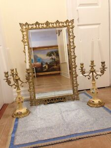 wedding Mirror With Candle Holder