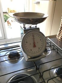Silver Kitchen Scales