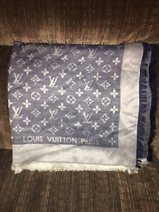 Louis Vuitton Monogram Denim Shawl