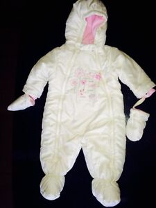 6-12 month winter snowsuit MINT CONDITION