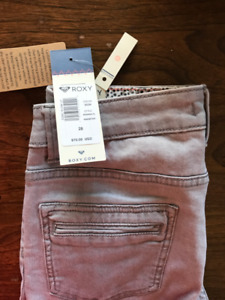 Roxy Skinny Jeans size 28 New with Tags