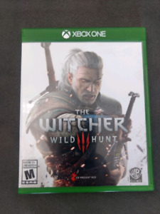 Jeu xbox one the witcher