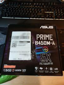 B450 AMD Ryzen Motherboard Asus