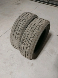 215 60 17 snow tires like new