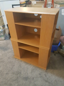 Stackable shelving - 2 pieces
