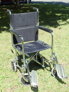 AMG Transport Chair/ Companion wheelchair