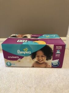 Unopened box of Pampers Cruisers Diapers