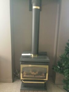 Natural gas fireplace for parts 100obo or trade
