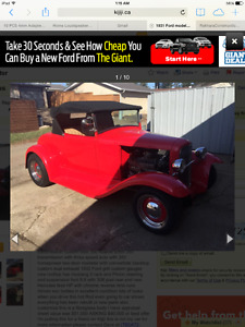 1931 ford roadster hot rod ragtop