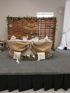 Country Rustic Wedding decor and prop rental